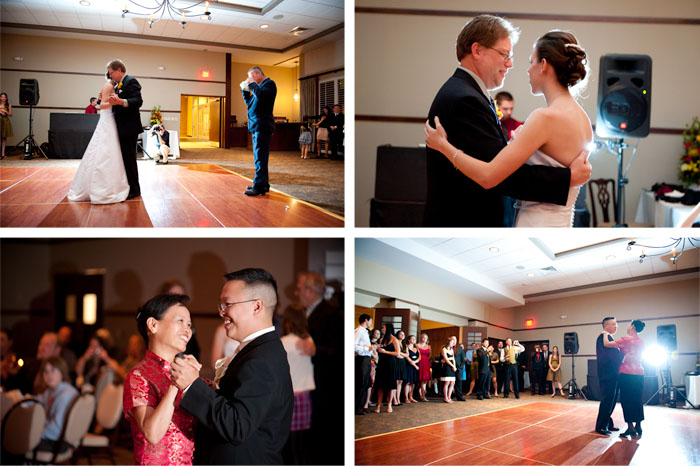 first dances Laura + Paul | Raleigh, NC Wedding
