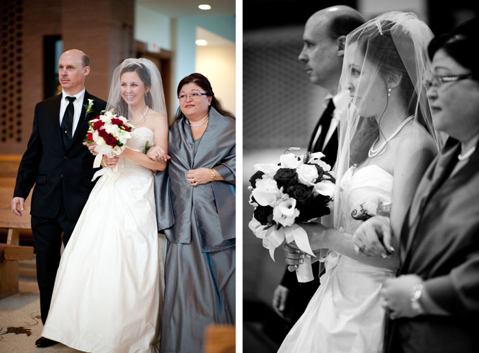 brides entrance Dottie + Zack | Raleigh, NC Wedding