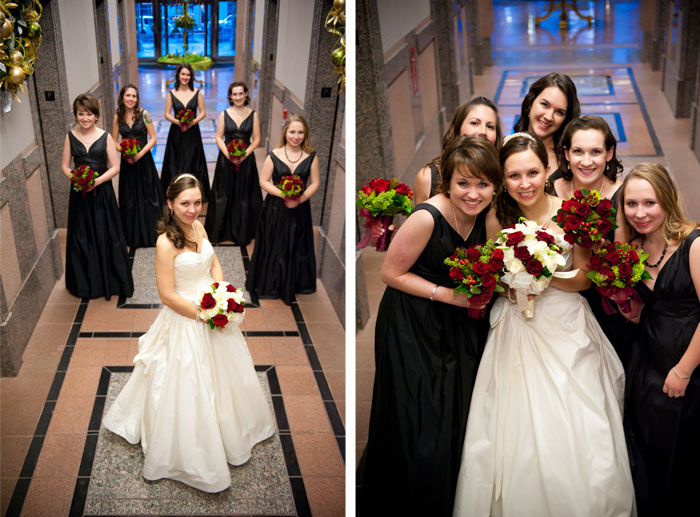 bridesmaids Dottie + Zack | Raleigh, NC Wedding