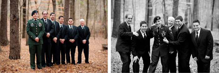 groomsmen Dottie + Zack | Raleigh, NC Wedding