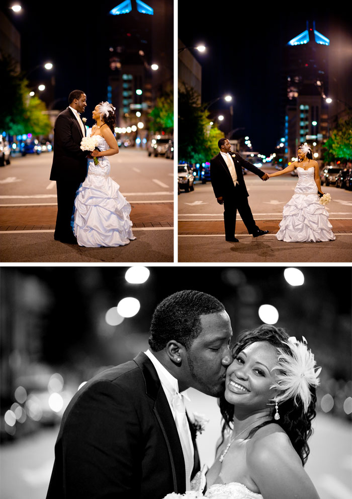 bride and groom Kara + Stephen | Greensboro, NC Wedding