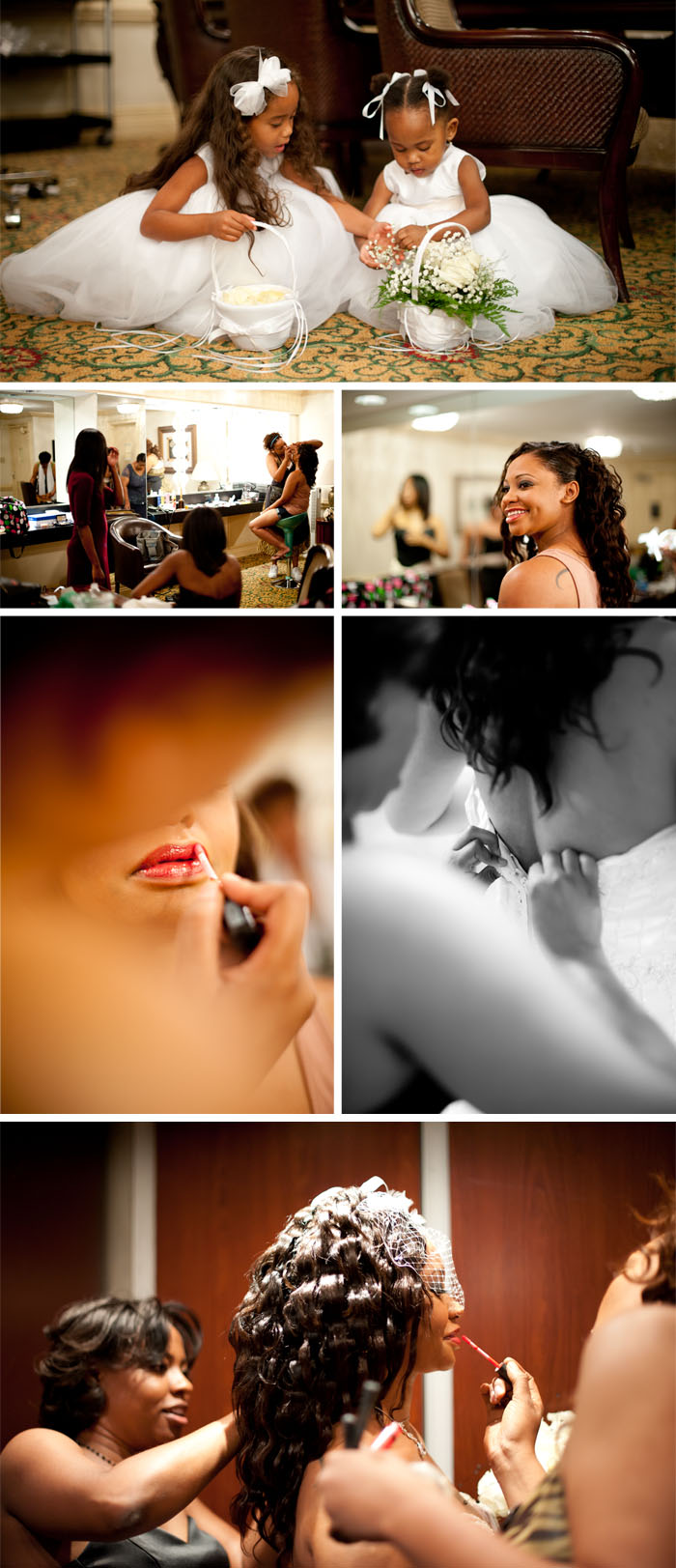 bride prep Kara + Stephen | Greensboro, NC Wedding