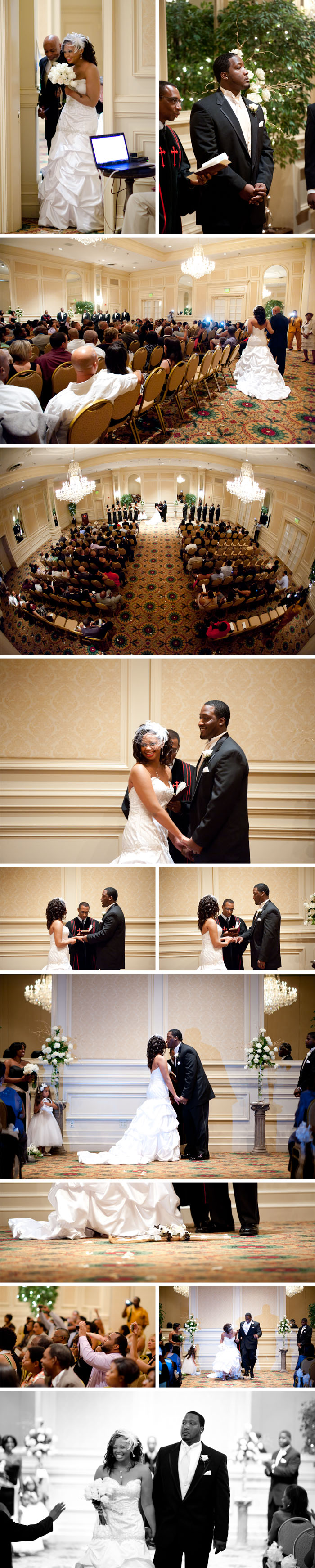ceremony Kara + Stephen | Greensboro, NC Wedding