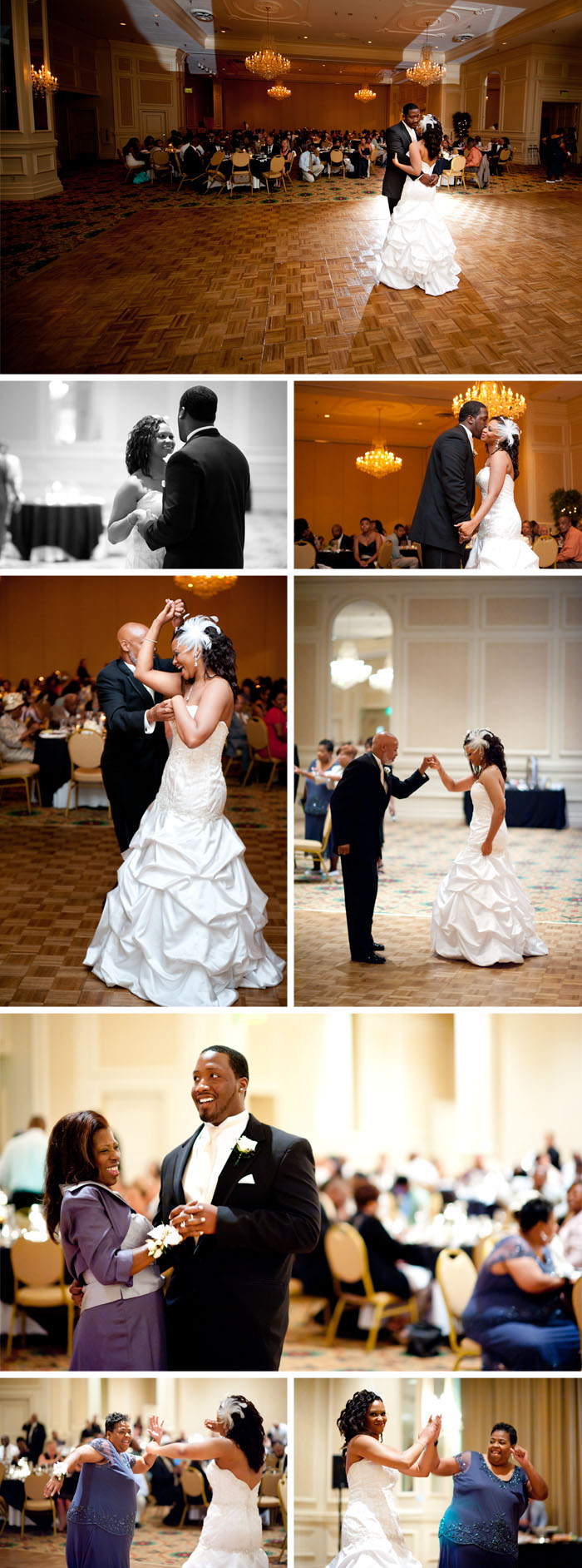 first dance Kara + Stephen | Greensboro, NC Wedding