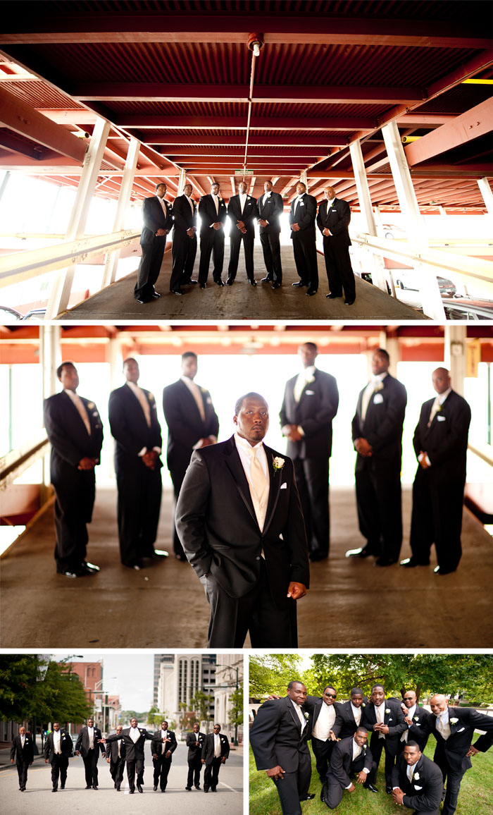 groomsmen1 Kara + Stephen | Greensboro, NC Wedding