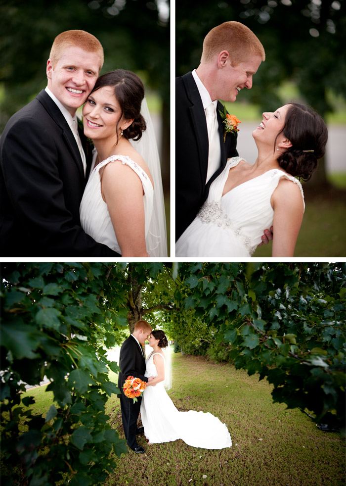 bride and groom Jessica + Sam | Clemmons, NC Wedding