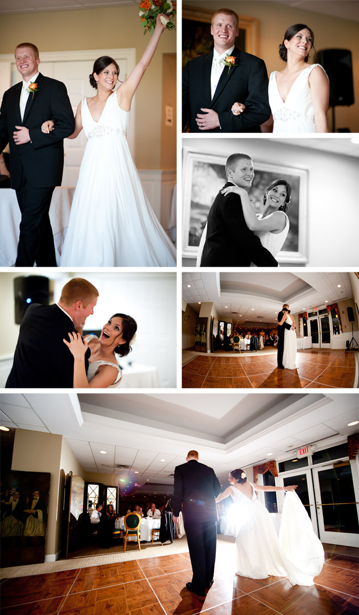 first dance1 Jessica + Sam | Clemmons, NC Wedding