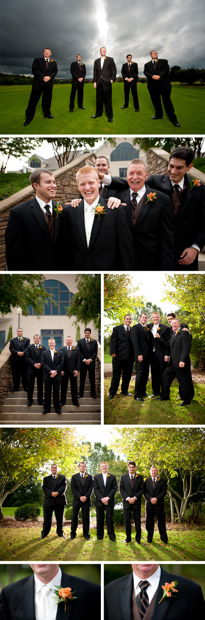 groomsmen3 Jessica + Sam | Clemmons, NC Wedding