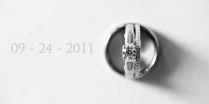 rings Jessica + Sam | Clemmons, NC Wedding
