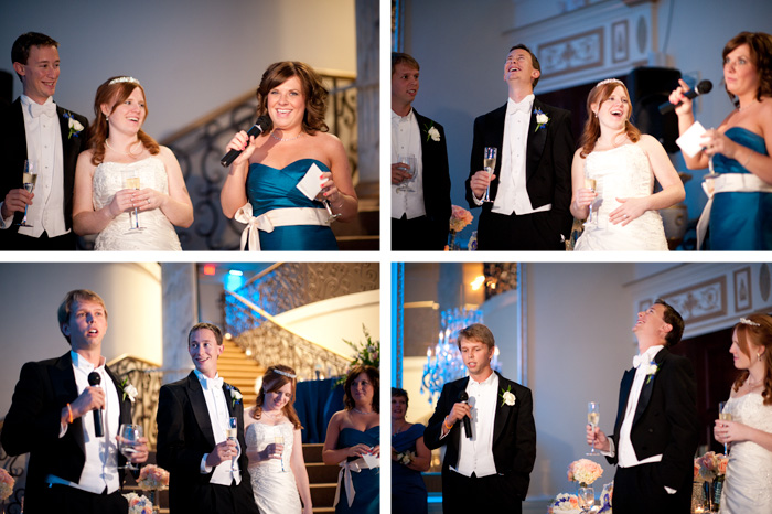 toasts Jillian + Charles | Garner, NC Wedding