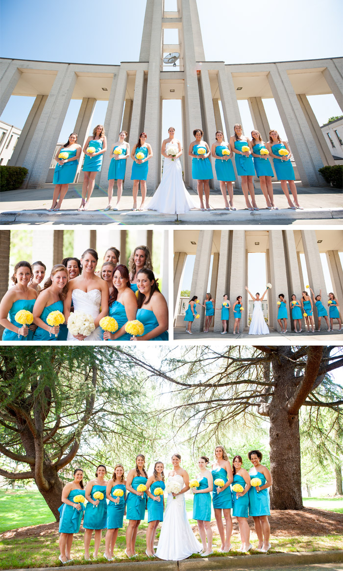 bridesmaids Rebecca + Blair | Charlotte, NC Wedding
