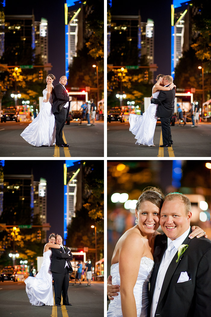 downtown charlotte wedding Rebecca + Blair | Charlotte, NC Wedding