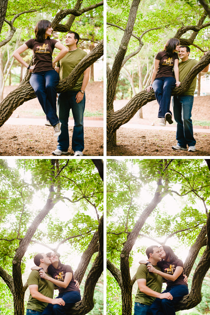 engaged nc state Stacy + Derek | Raleigh, NC Engagement