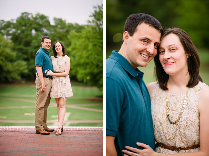 nc state engagement Stacy + Derek | Raleigh, NC Engagement