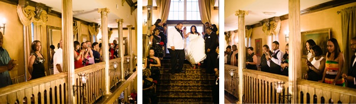 entrance Jamila + Corey | Angier, NC Wedding