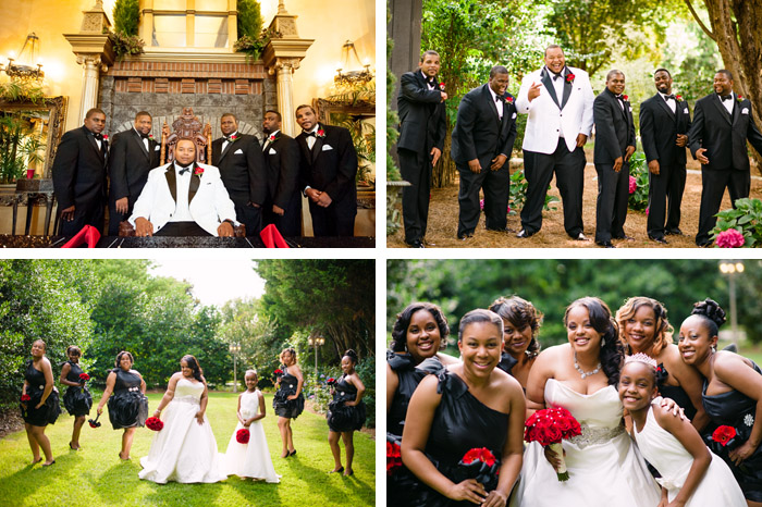 group Jamila + Corey | Angier, NC Wedding