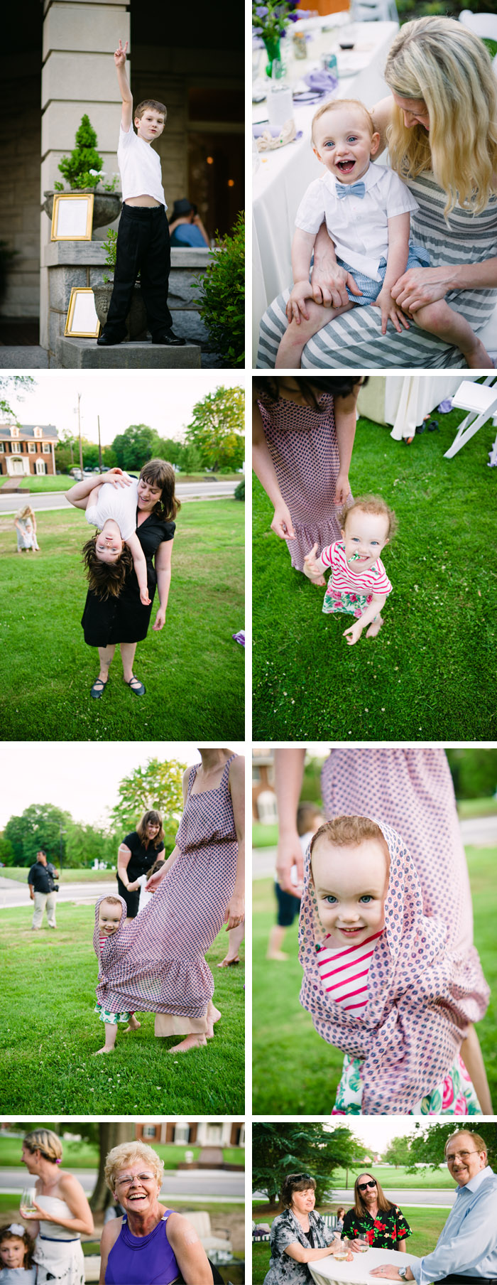 kids Andrea + Hugh | Durham, NC Wedding