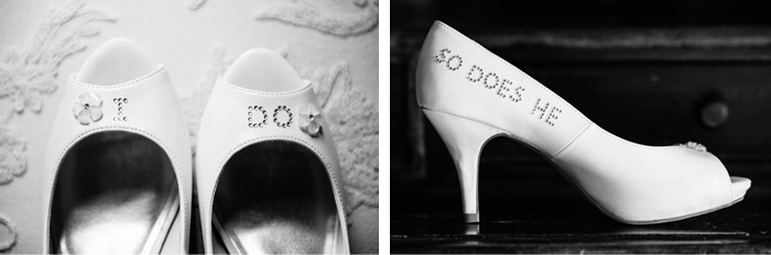 Shoes Tiffany & John | Fuquay Varina, NC Wedding