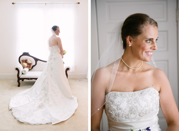 bridal Sarah + Alden | Louisburg, NC Wedding