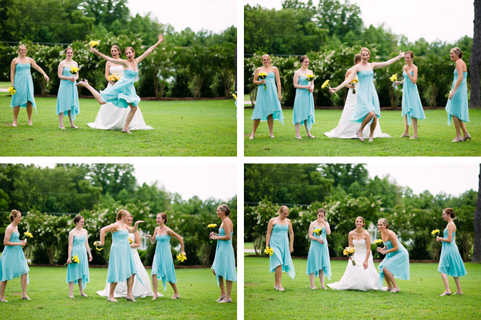 bridesmaids Sarah + Alden | Louisburg, NC Wedding