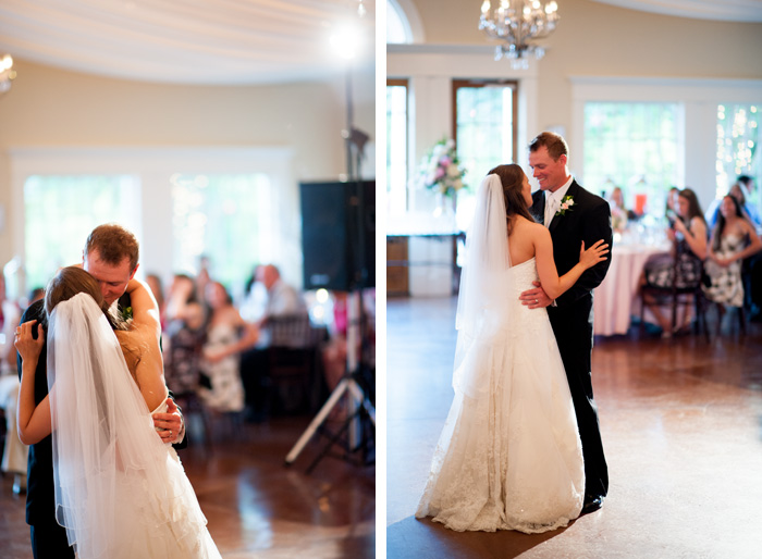 first dance Tiffany & John | Fuquay Varina, NC Wedding