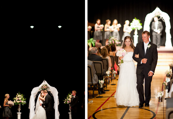 the kiss Tiffany & John | Fuquay Varina, NC Wedding