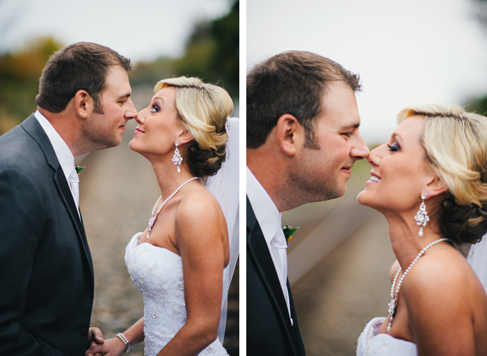 bride groom Stacey + Patrick | Greensboro, NC Wedding