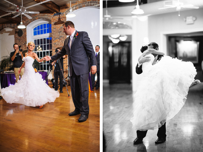 first dance Stacey + Patrick | Greensboro, NC Wedding