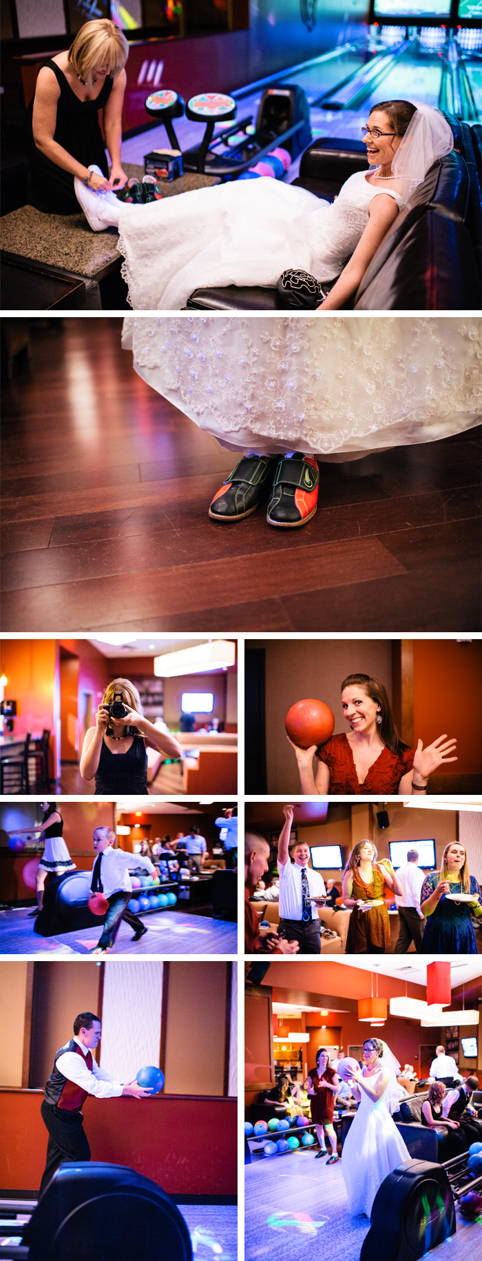 bowling 1 Amy & Andy | Raleigh, NC Wedding