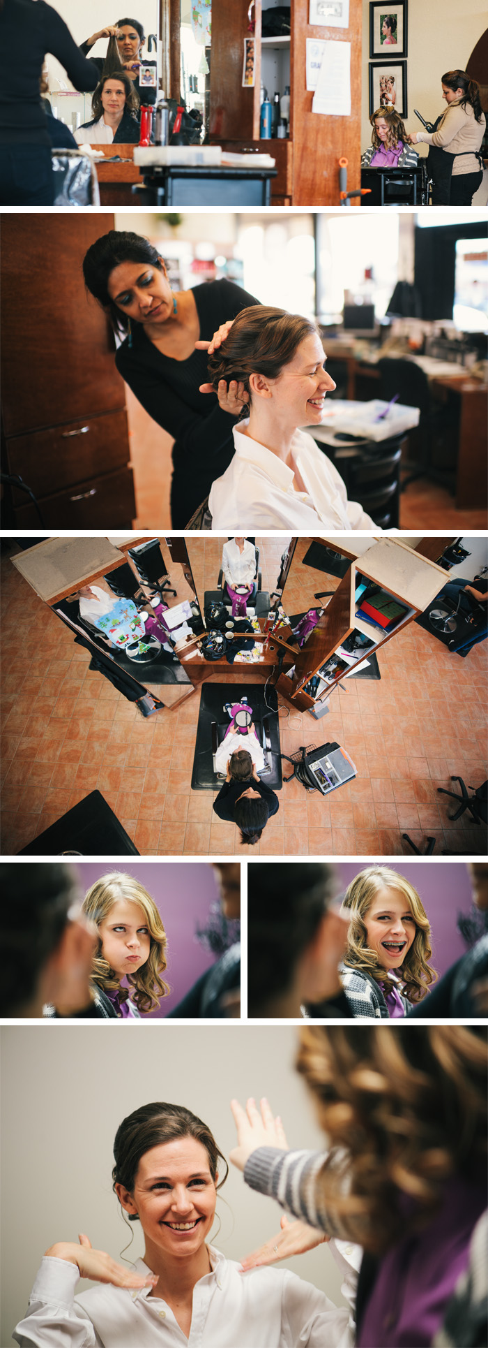 getting ready Amy & Andy | Raleigh, NC Wedding